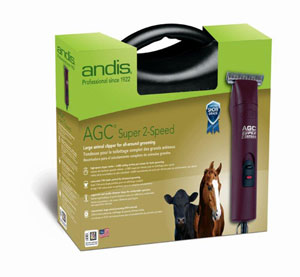 Andis 22330 Super 2 Speed Horse Clipper with T-84 Blade