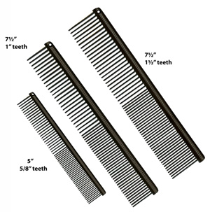 Groomer's Mall Anti Static Combs