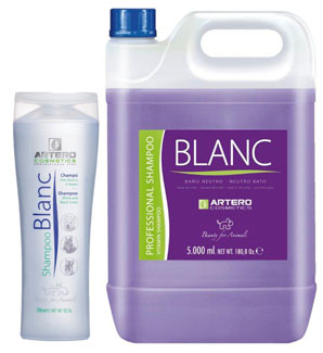 Artero Blanc Shampoo for White, Dark and Grey Coats