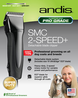 Andis SMC Super 2-Speed Detachable Clipper Black Friday Special