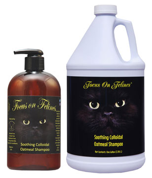 Focus on Felines Soothing Colloidal Oatmeal Shampoo for Cats
