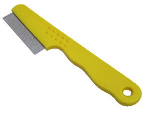 Flea Comb Yellow