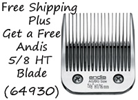 Free Andis 5/8 HT Blade