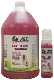 Nature's Specialties Barkle n Shine Foaming Facial Wash