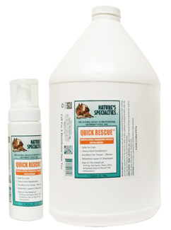 Nature's Specialties Quick Rescue Medicated Foaming Wash