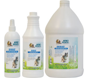Nature's Specialties SheaBlast Spray for Professional Dog and Cat Groomers
