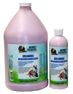 Nature's Specialties Sheamora Shea Butter and Argan Oil Conditioner for Professional Groomers