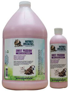 Nature's Specialties Sweet Passion Tearless Shampoo for Puppies and Kittens