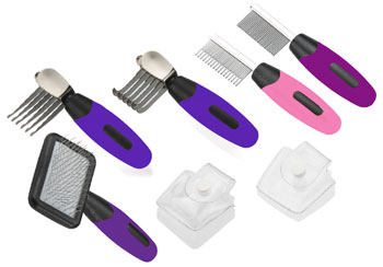 Paw Print Mini Groomer Tools