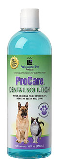 Professional Pet Products Dental Solution
