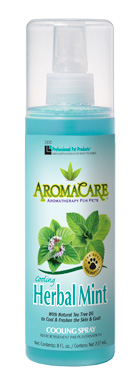 Professional Pet Products Herbal Mint Aromacare Shampoo and Cooling Spray for Dogs