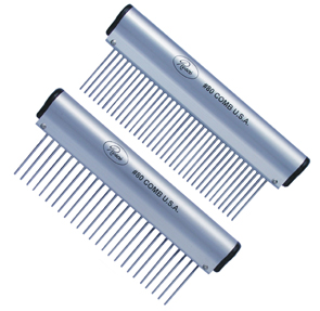 Resco Aluminum Handle Ergonomic combs