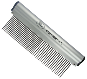 Resco Maxi Aluminum Handle Combination Comb