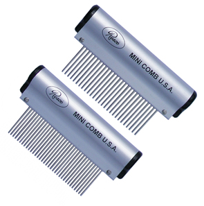 Resco Mini Aluminum Handle Combs