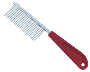 Resco Pro Cat Comb with Red Handle