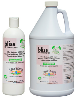 Show Season Bliss Conditioner for dogs and cats