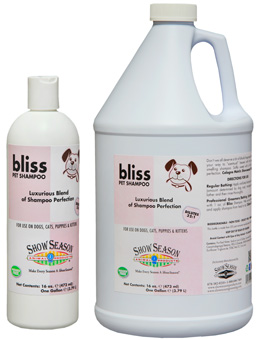 Show Season Bliss Pet Shampoo for Dogs, cats, puppies and kittens