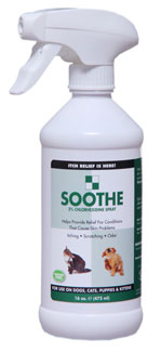 Show Season Soothe Spray for Dogs and Cats with Itchy Skin Problems